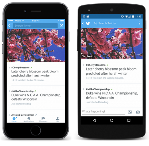 twitter feature