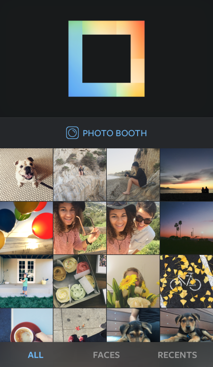 Instagram's Layout for Android