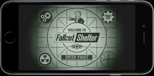 Fallout Shelter Welcome Screen
