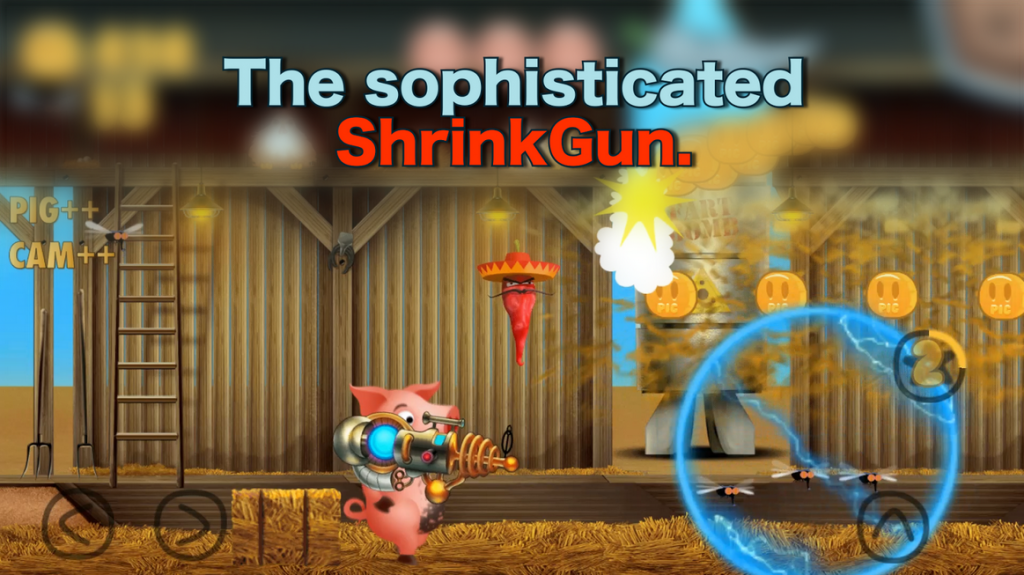 The Farting Pig   Android Apps on Google Playshrink gun