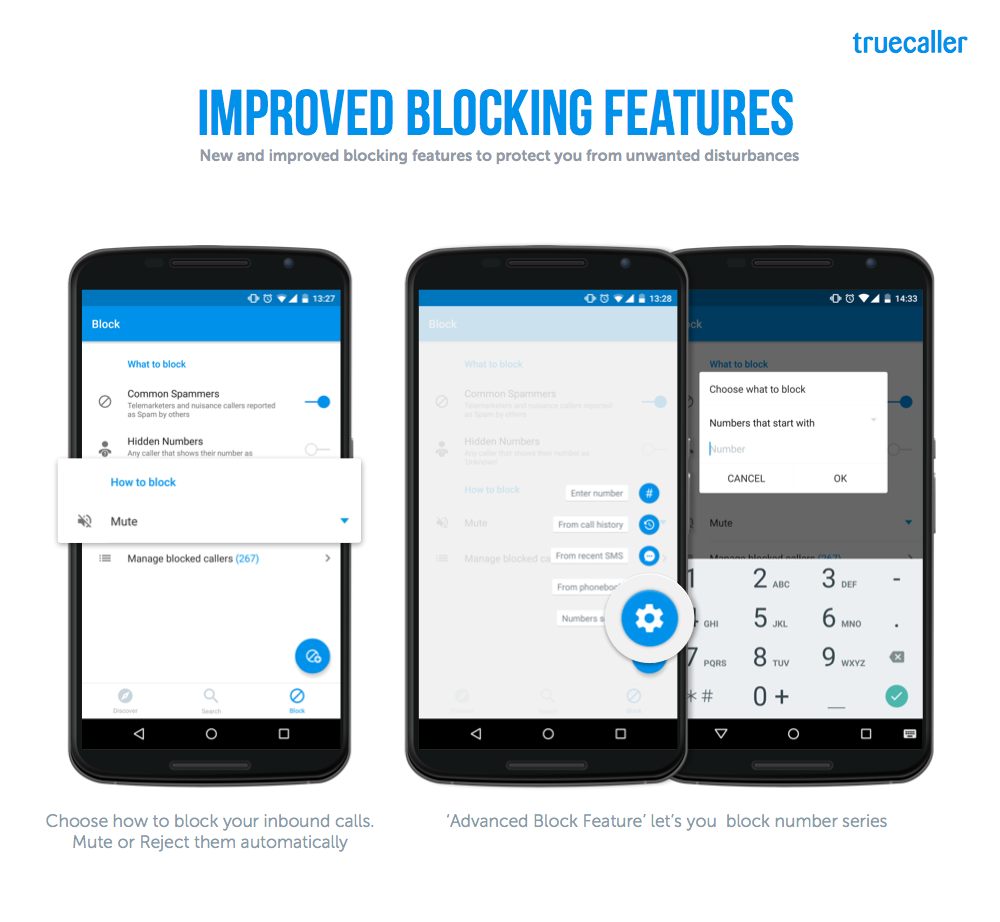 Truecaller's re-innovated Block section