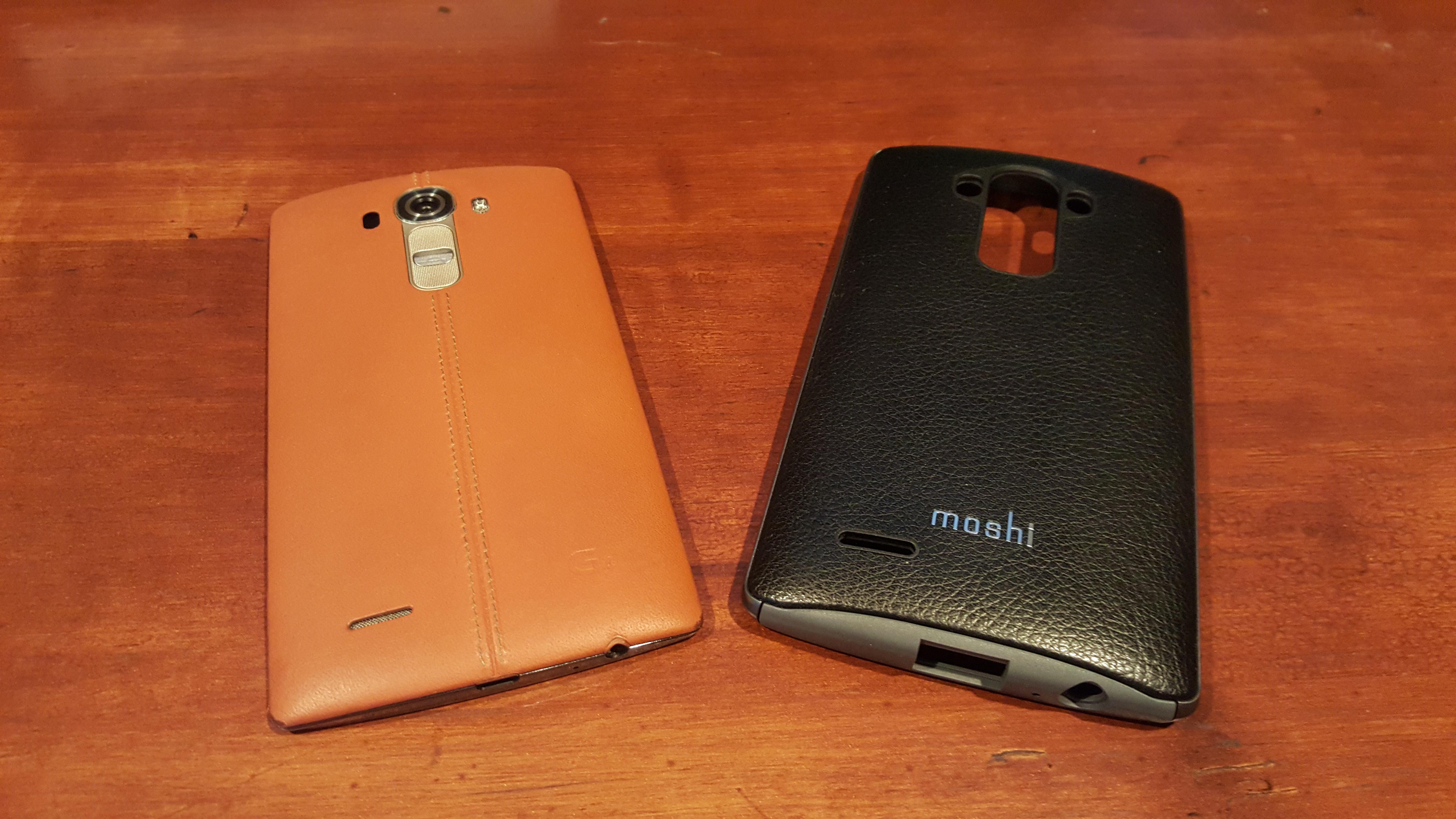 LG G4 case Moshi iGlaze Napa