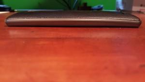 LG G4 case Moshi iGlaze Napa side