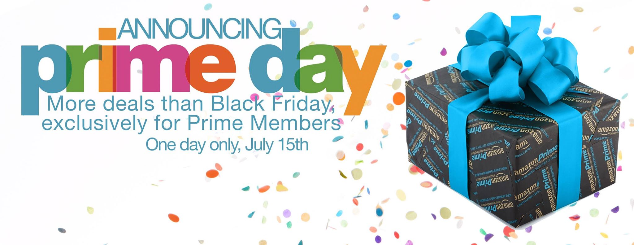 Amazon's Prime Day logo