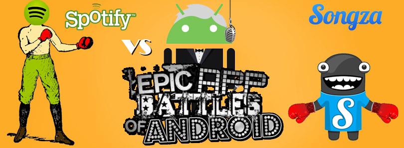Epic App Battles Spotify vs Songza