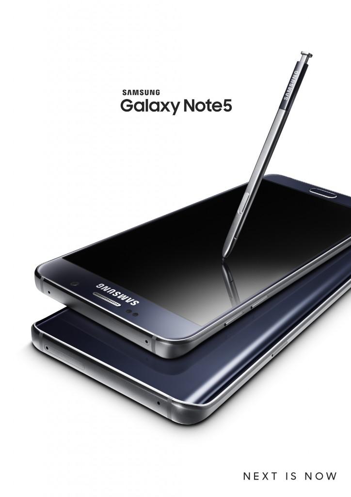 Galaxy Note5_Black Sapphire_Black_1P