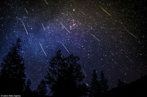 Persied meteor shower