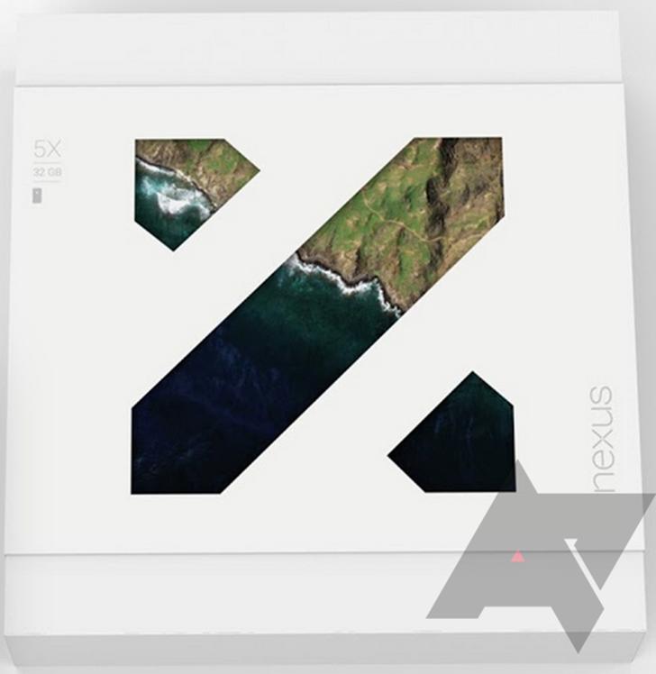 Nexus 5x packaging