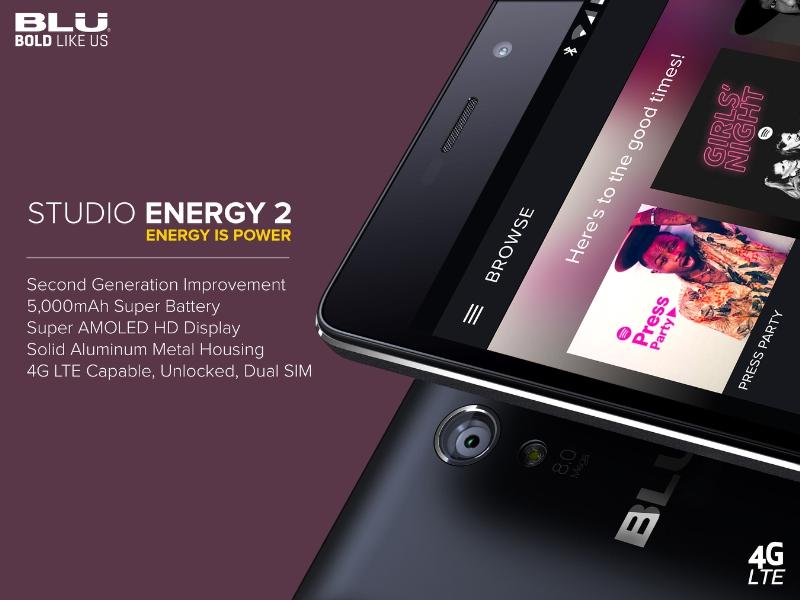 Studio Energy 2 (PRNewsFoto/BLU Products)