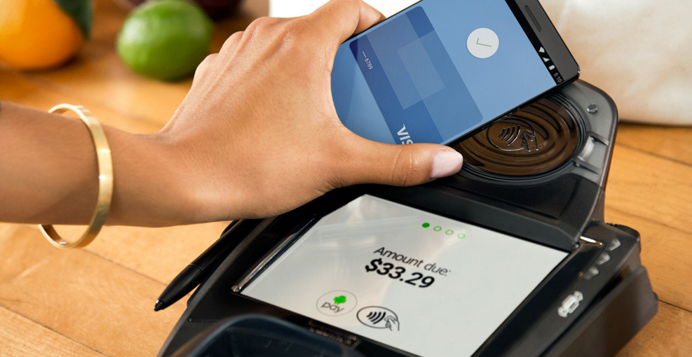 Android Pay contactless terminal
