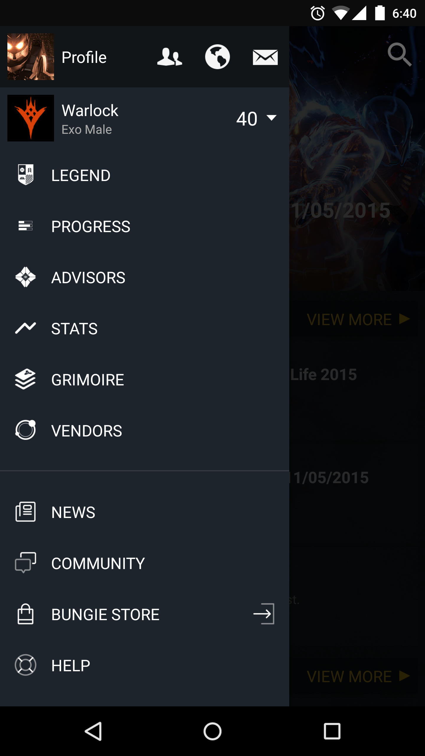 Destiny Companion App, the app that every Guardian needs [App Review]