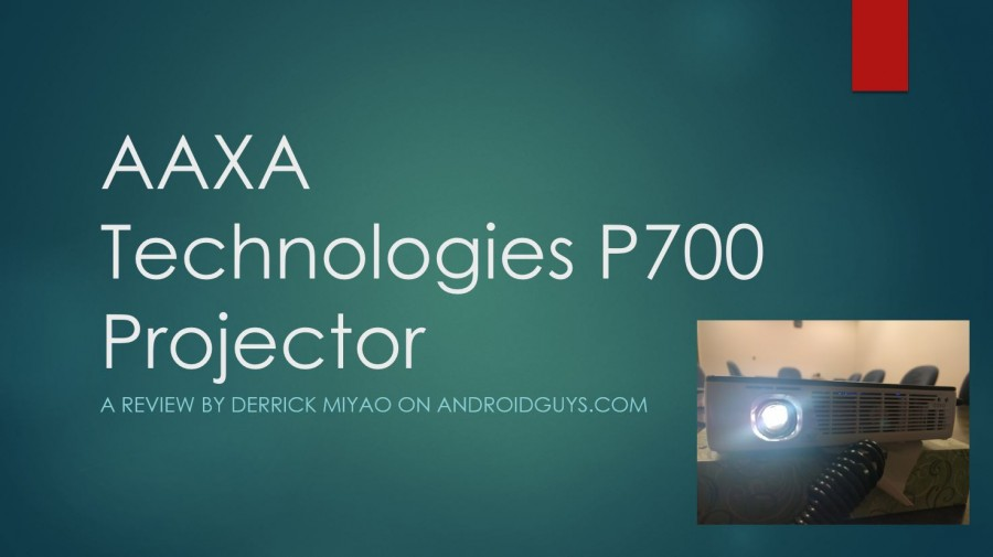 Aaxa Technologies P700 Hd Led Micro Projector Review