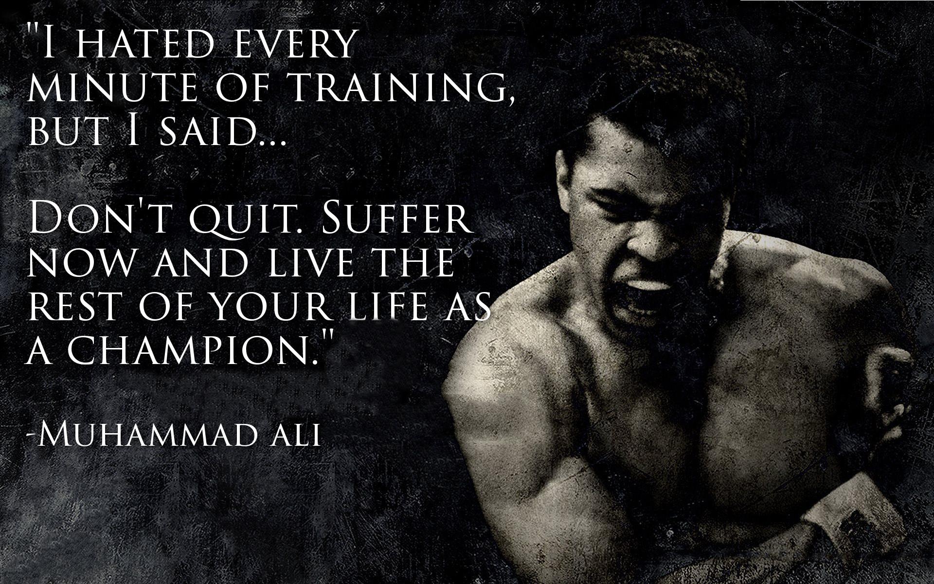 Ali-Quote