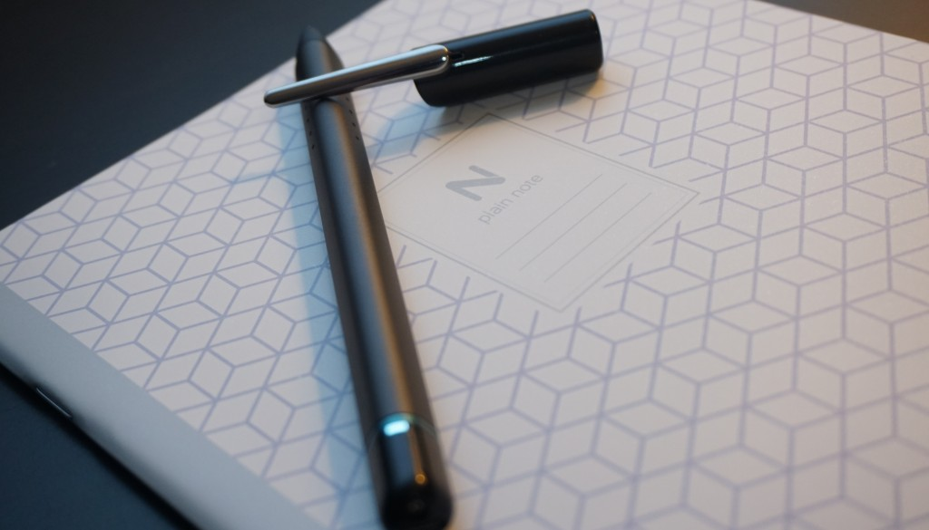 Neo N2 pen and notebook