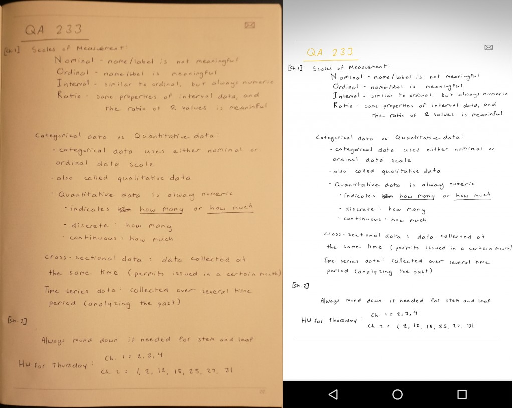 Neo Notes example