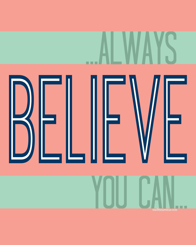 Resolutions-Believe