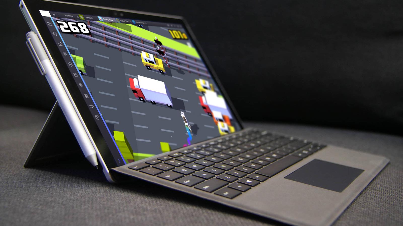 Surface_Pro_4_Running_BlueStacks_2
