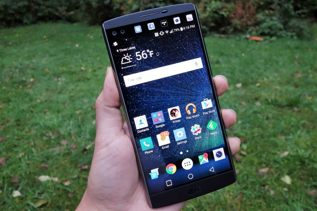 LG V10 with UX 4.0+ user interface