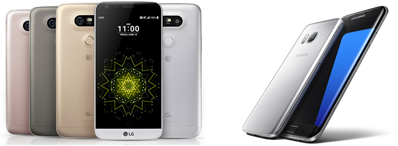 LG G5 vs Samsung Galaxy S7 featured image 810
