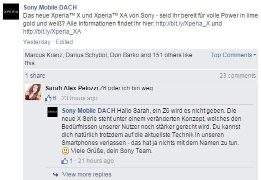 Sony Xperia X Line screenshot