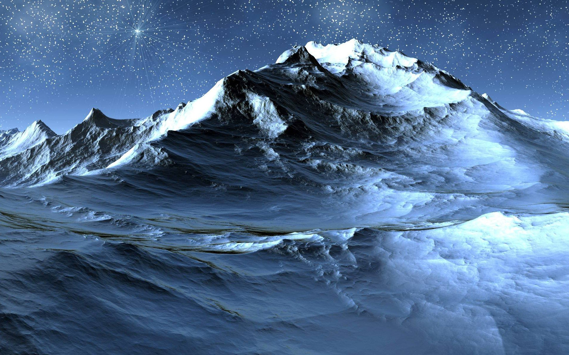 icy-mountain