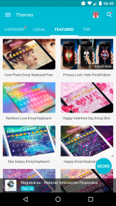 KK Emoji Keyboard Themes