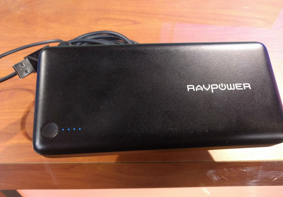 RAVPower Portable Charger top