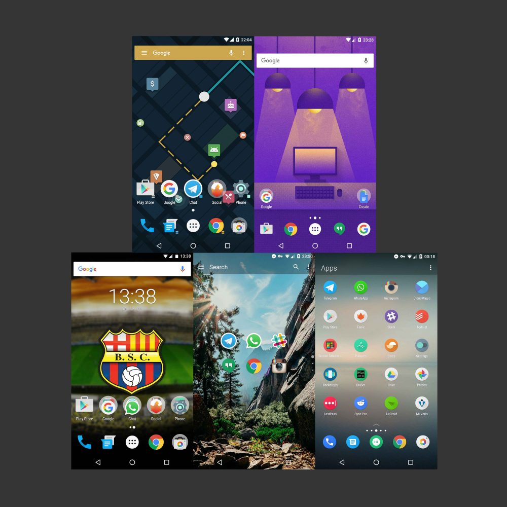 Five Android app launchers you absolutely need to consider today