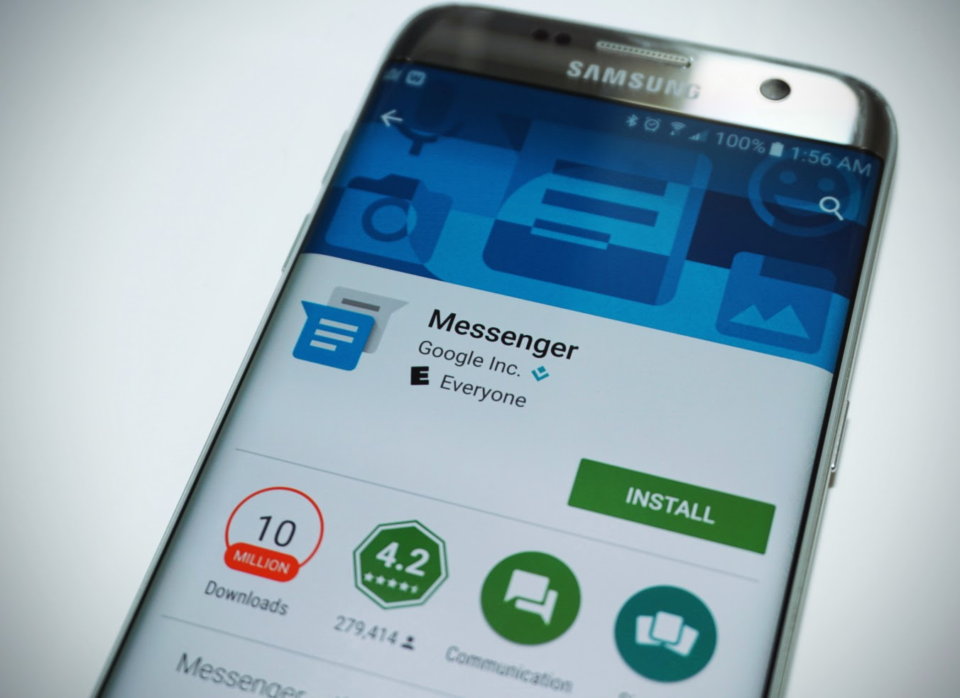 google messenger is the best all around texting app for android devices rh androidguys com Verizon Samsung Touch Screen Phone Samsung Messages