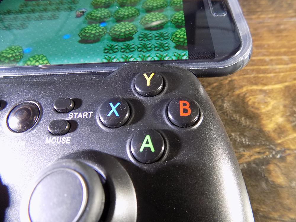 Satechi Gamepad ABXY