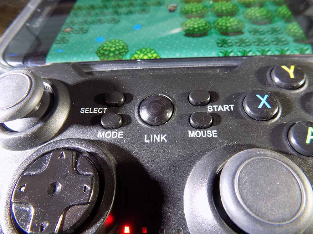 Satechi Gamepad middle buttons