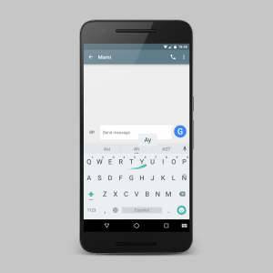 Google Keyboard Gesture Typing