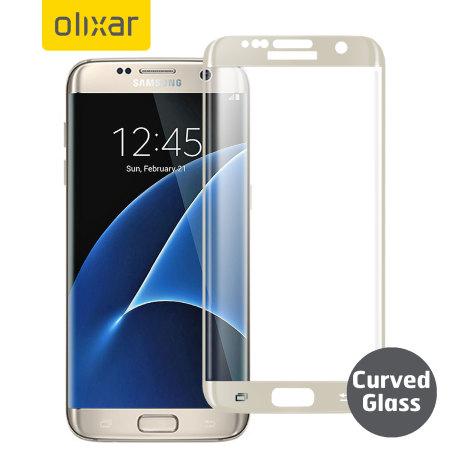olixar galaxy s7 edge screen protector