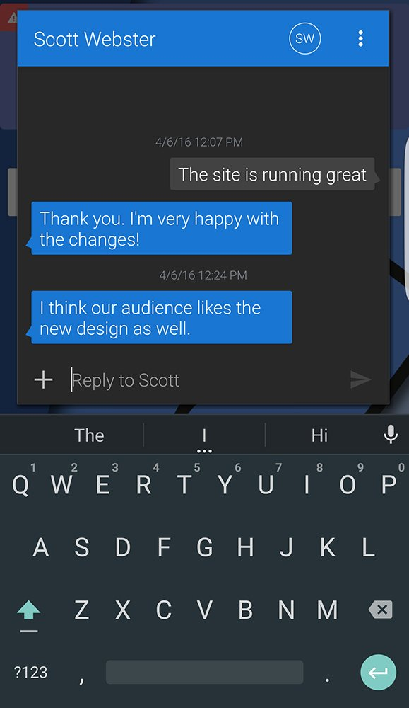 Is Textra the best third-party SMS app in the Play Store