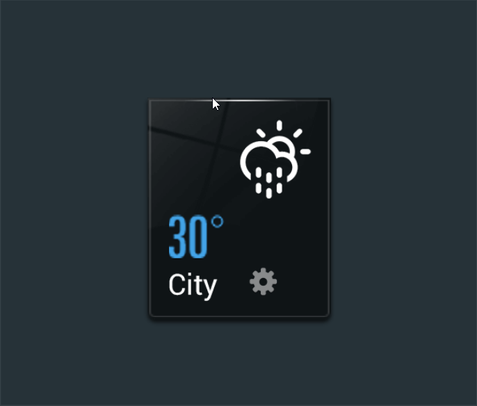 how to change home screen weather location android box