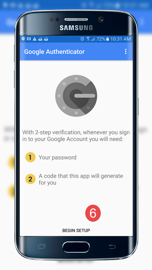 Google Authenticator app secure security awareness training cybernews
