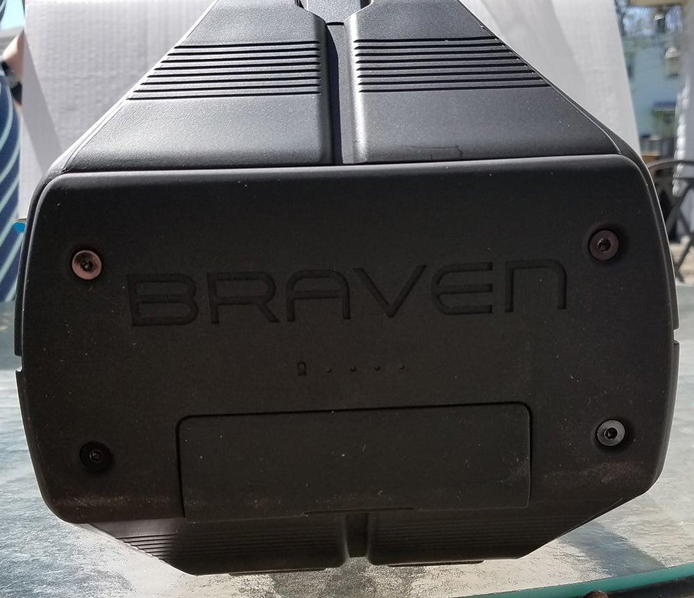 Braven BRV-XXL ports covered