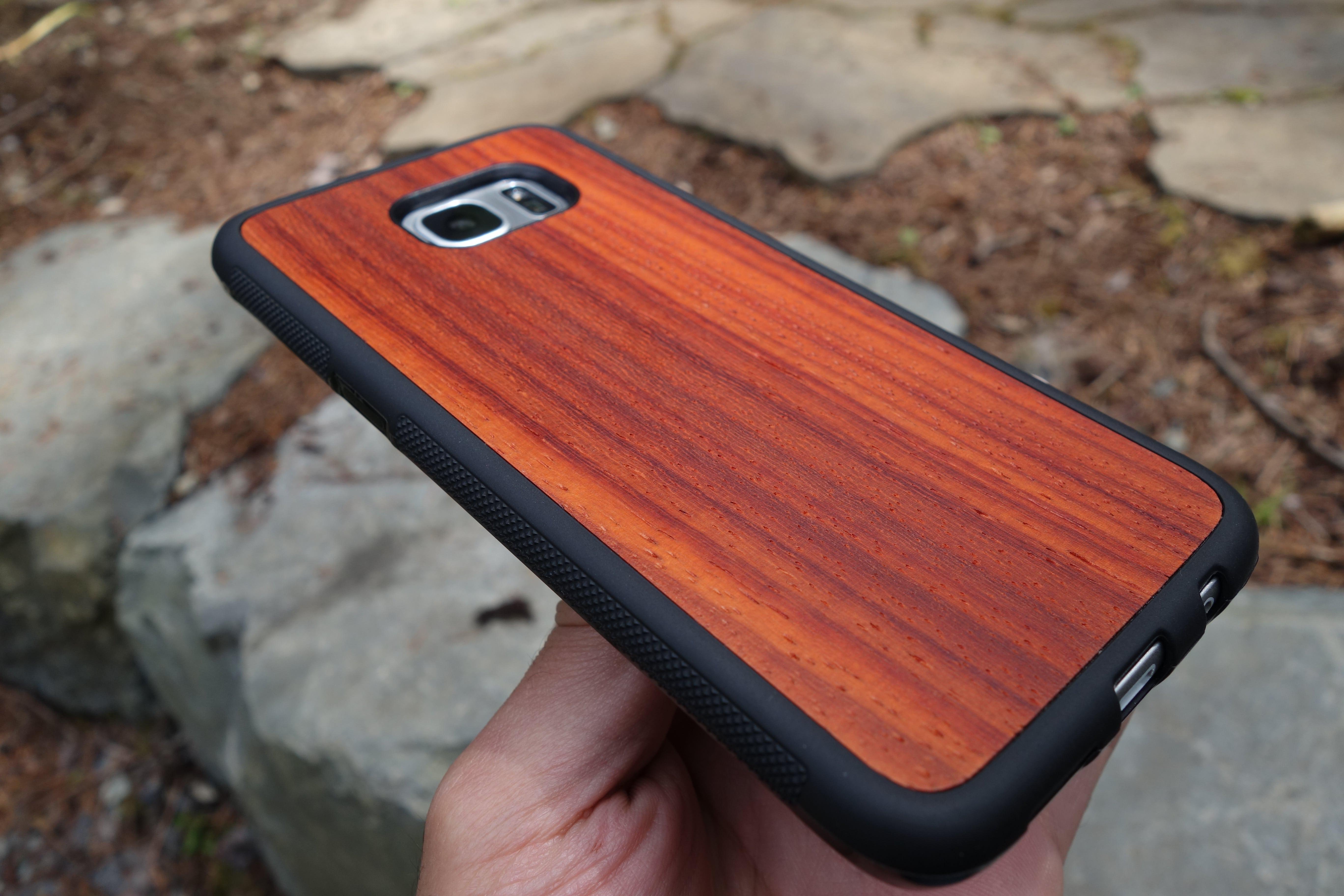 Explorer Case with Padauk wood