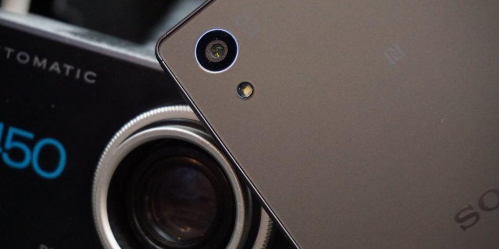 Sony Xperia Z5 camera