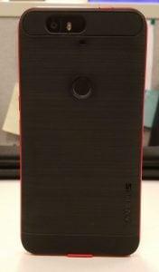 Verus High Pro Sheild Nexus 6P Red Standing Rear