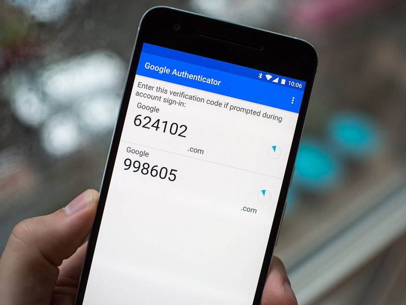 Setting up Google Authenticator is as easy as scanning a QR code