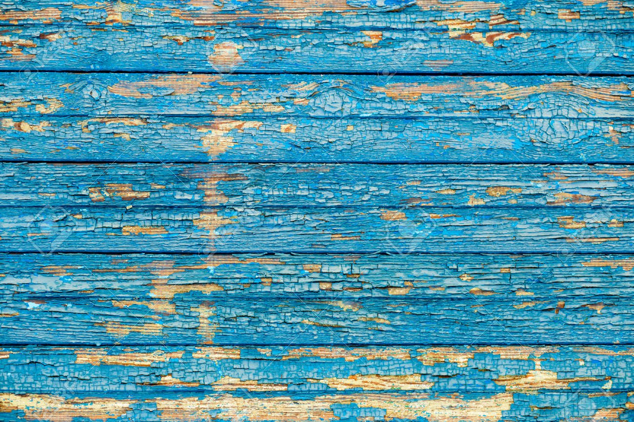 35568052-old-wood-texture-with-a-shabby-blue-paint-Stock-Photo