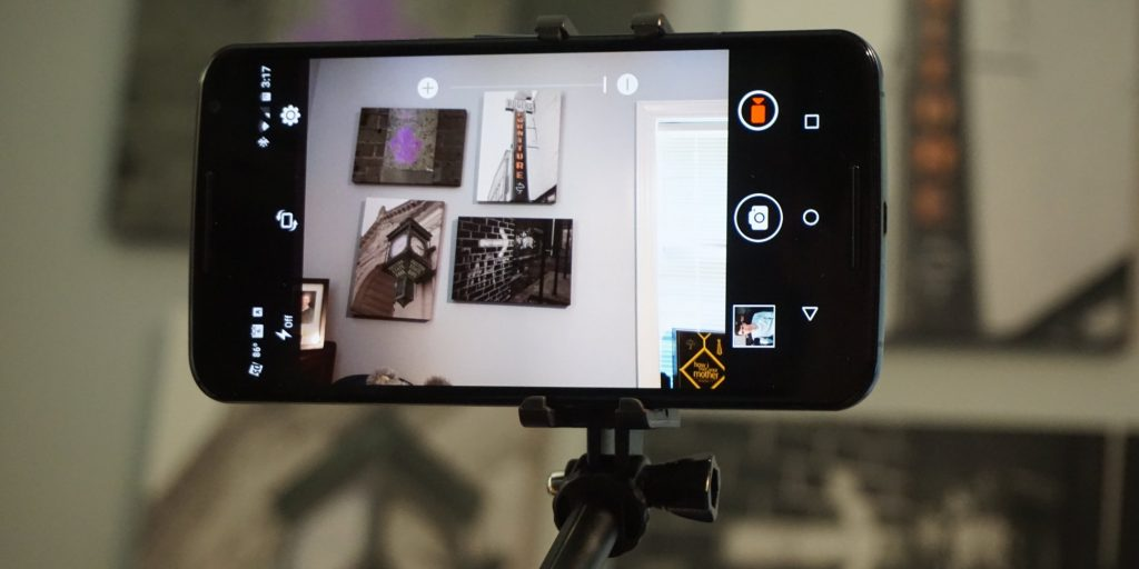 Blitzwolf Selfie Stick back camera