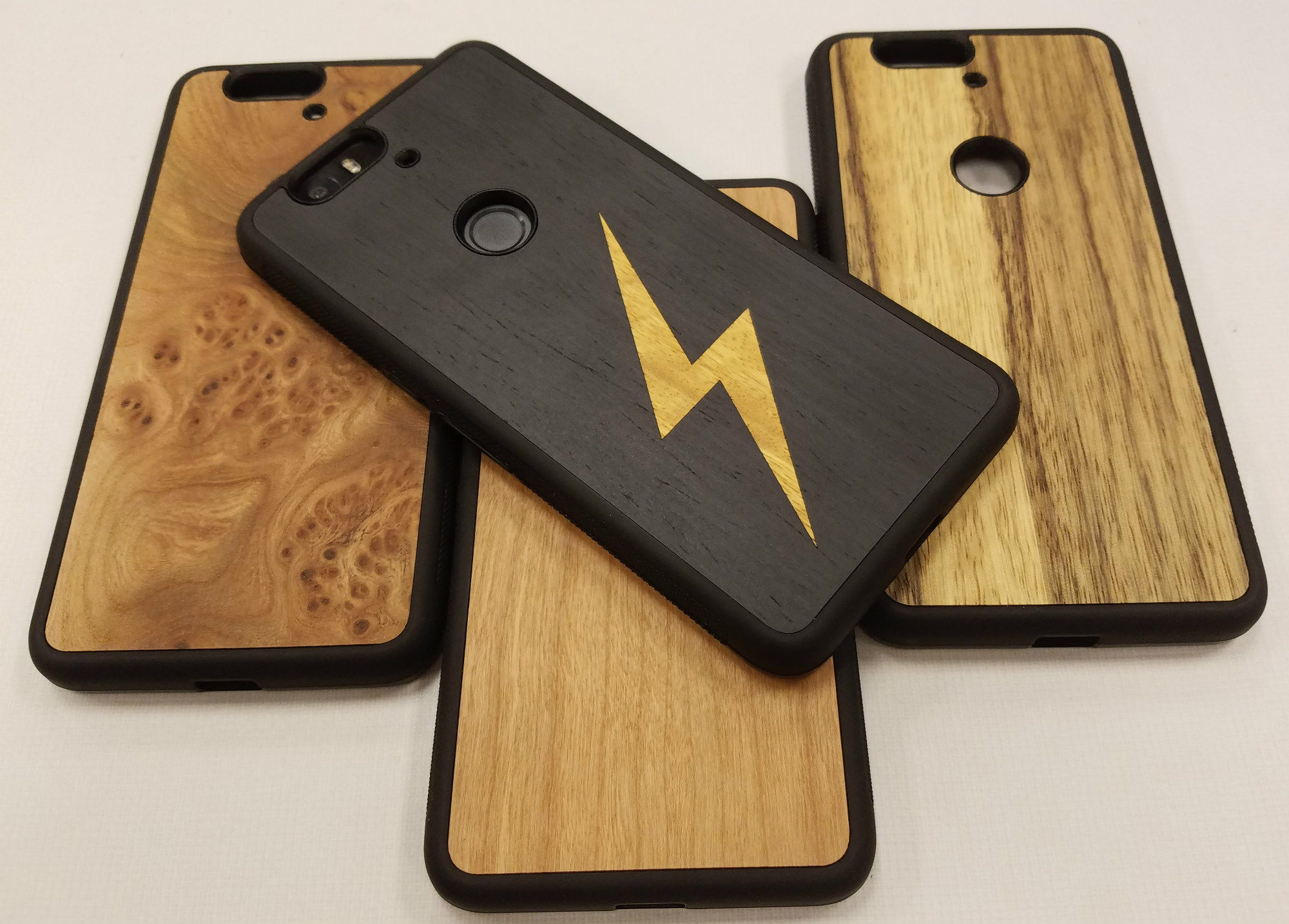 sale retailer e55dc 8fd35 Cover-Up's #WoodBack cases make your Nexus 6P look and feel awesome ...