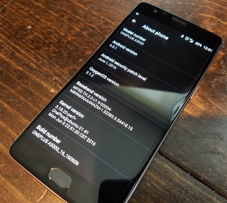 OnePlus 3 software