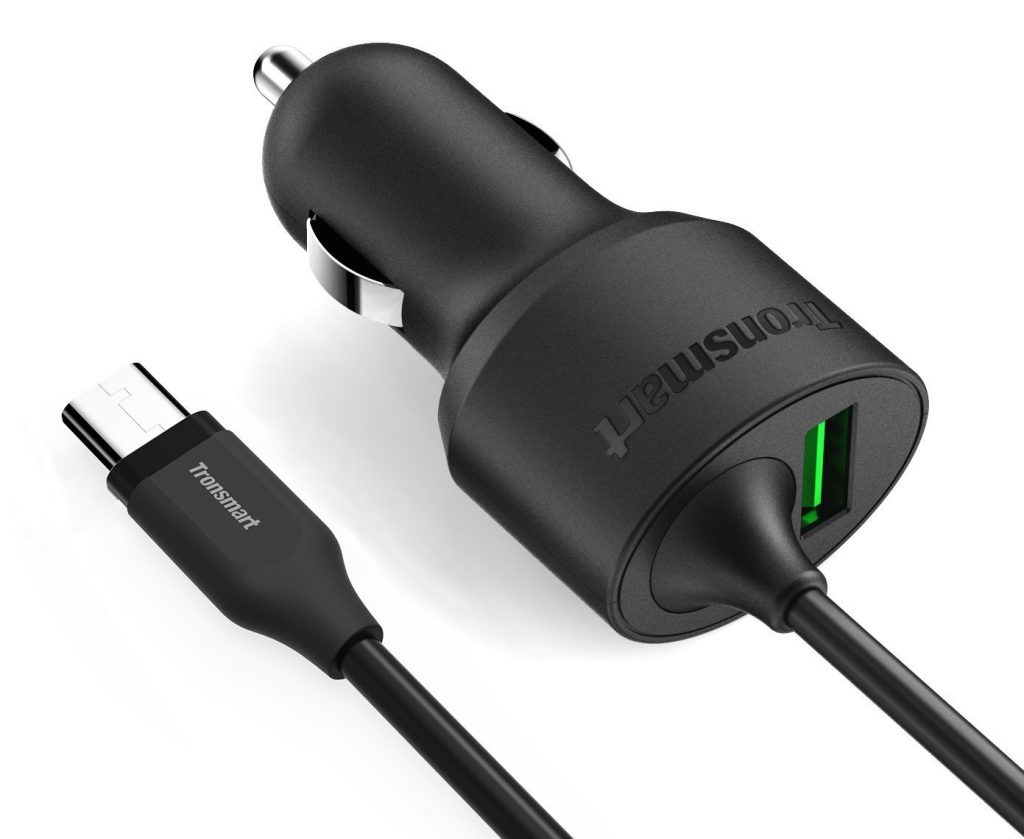 tronsmart usb type c car charger