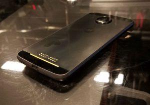 Motorola Moto Z Force Droid back