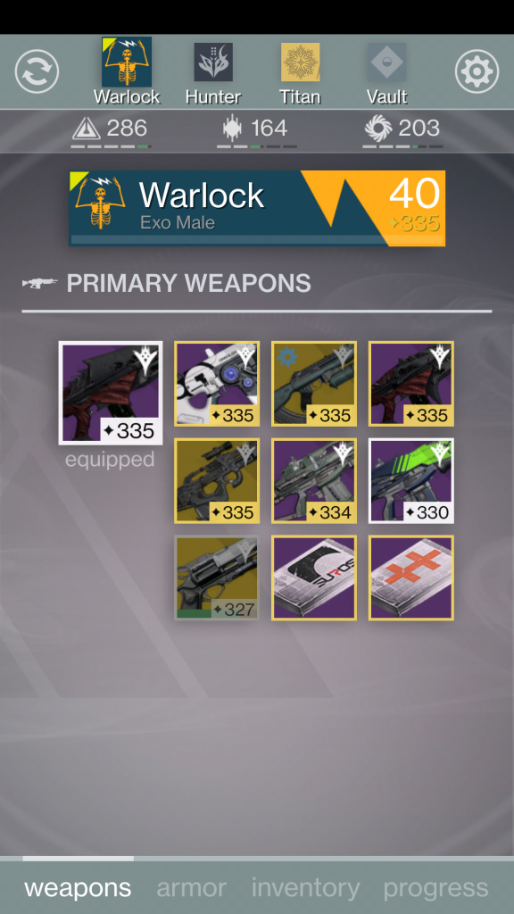 Ishtar Commander Weapons