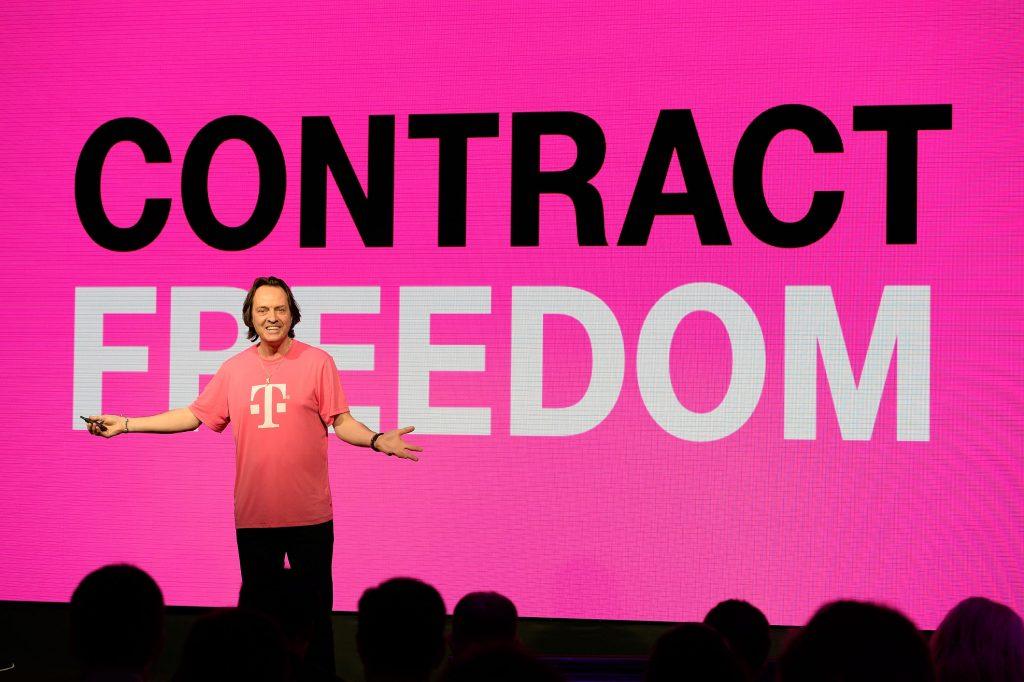 T-Mobile Press Event - Un-carrier 4.0