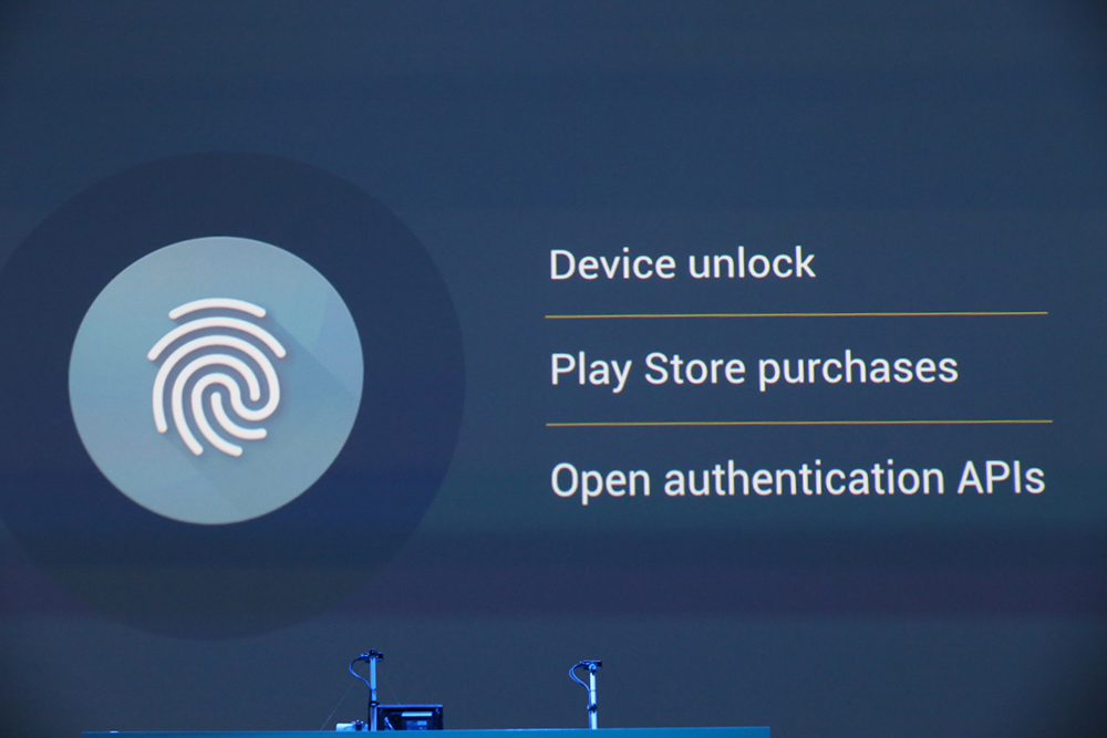 android M fingerprint